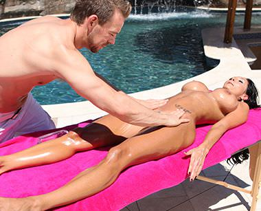 Ava Addams' Hot Oil Massage